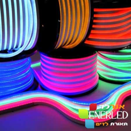 ערכה-לדים-NEON-FLEX-תאורה-רציפה—5-מטר